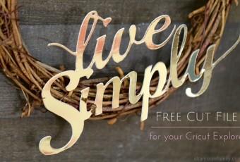 Free Cut File - Cricut Explore