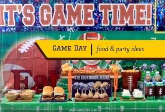 Easy Game Day Party and Food Ideas