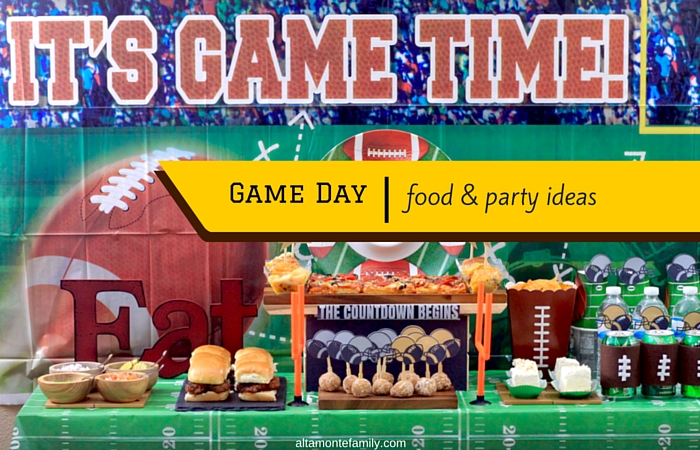 easy game day party and food ideas altamonte family
