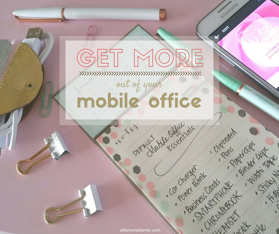How To Get More Out Of Your Mobile Office