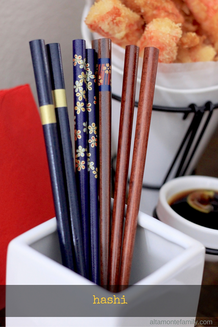 Hashi Japanese Chopsticks