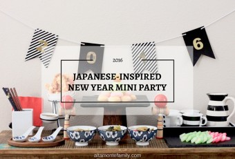 Japanese-Inspired New Year Mini Party