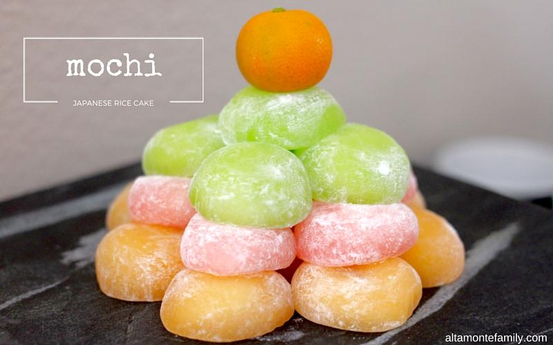 Mochi Japanese Rice Cake