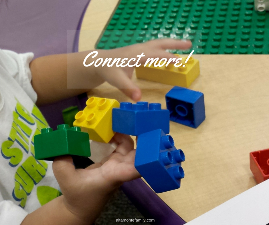 Learning through connecting