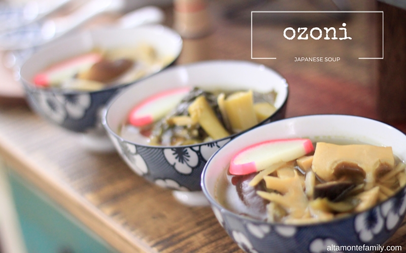 Ozono Japanese New Year Soup