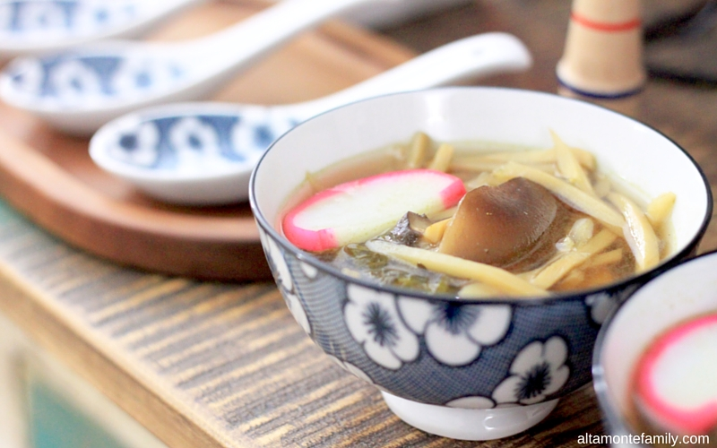 Ozoni Japanese New Year Soup