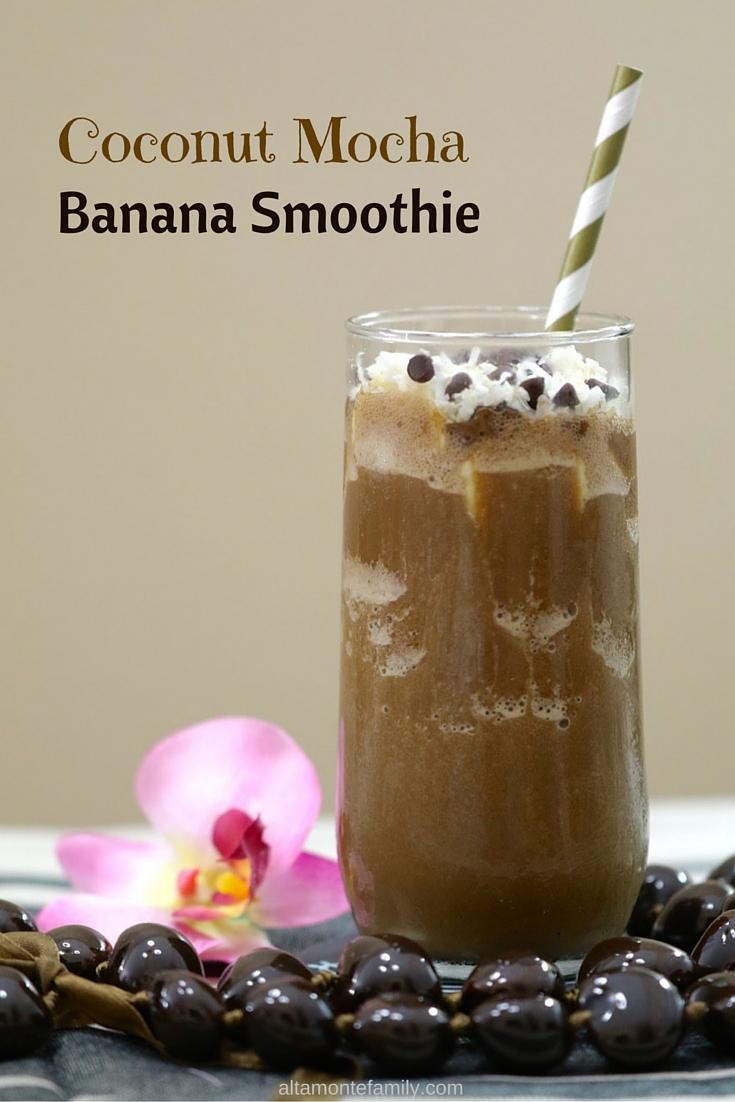 Coconut Mocha Banana Smoothie Recipe