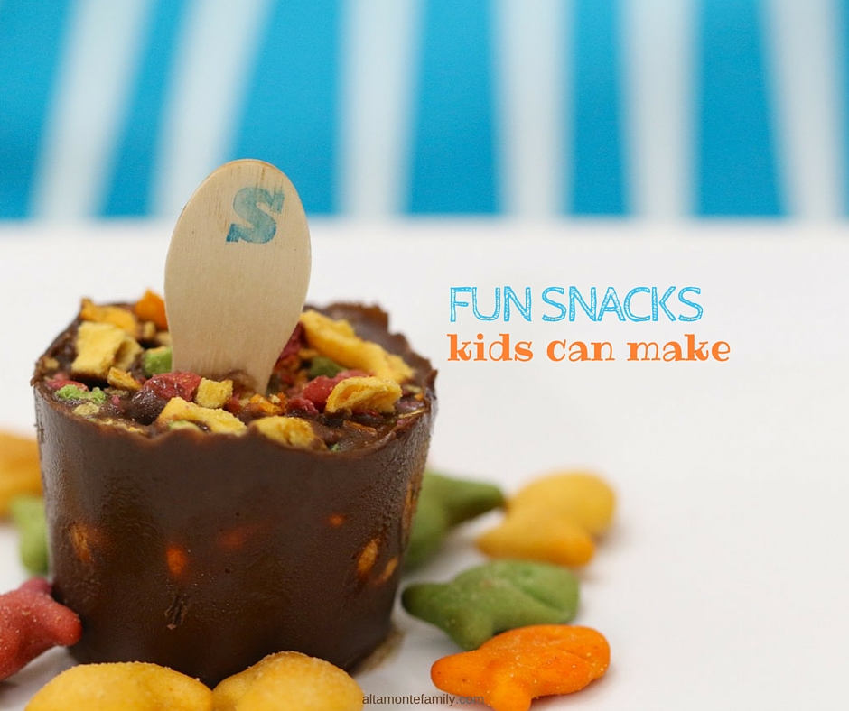 fun snacks kids can make