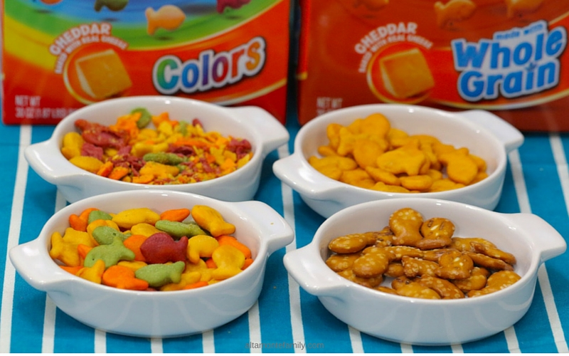 fun recipe ideas for kids using Goldfish crackers