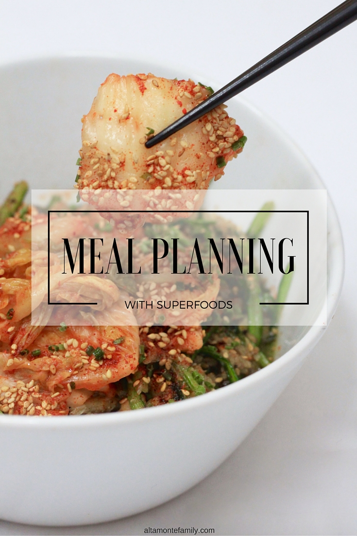Meal Planning with Superfoods