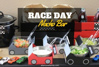 Race Day Nacho Bar and Party Tips