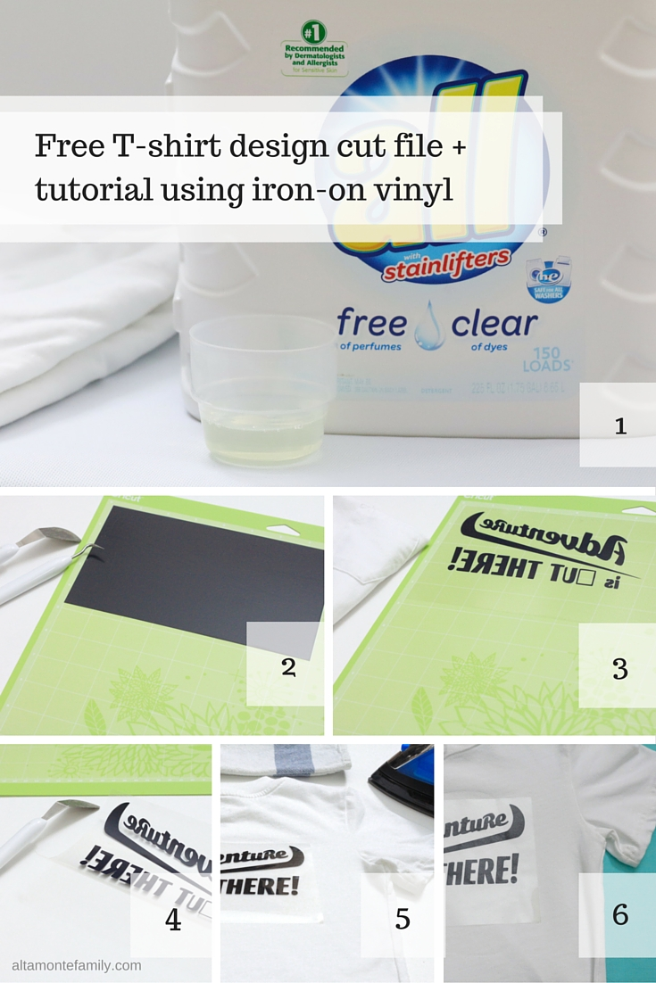 cricut iron on instructions