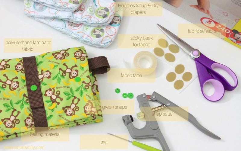 DIY Diaper Changing Mat Waterproof - Babyville PUL Fabric Snap Pliers