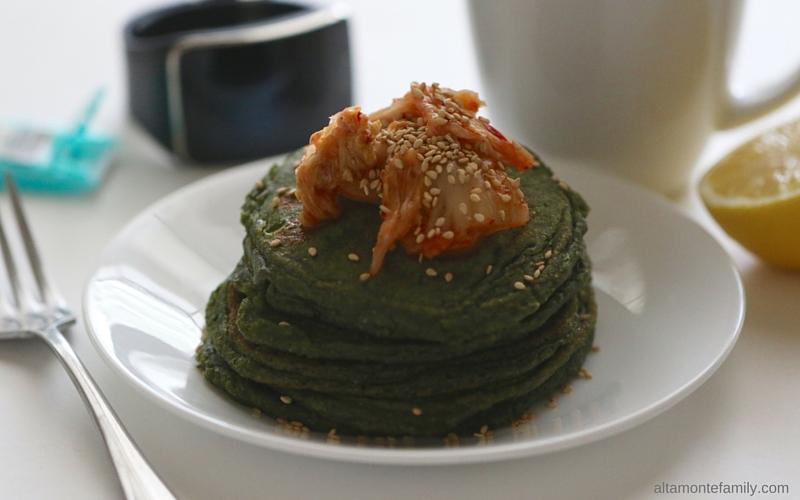 Green Pancakes - Spirulina Protein Pancake