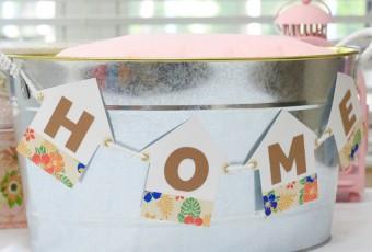 DIY Housewarming Gift Bunting