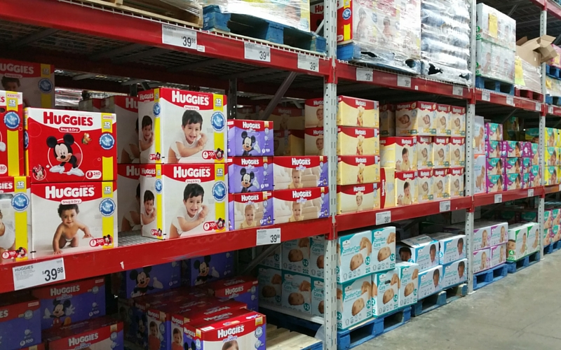 Huggies Snug and Dry Sam's Club