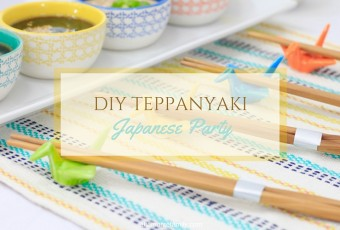 DIY Teppanyaki Japanese Party