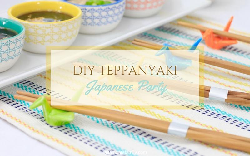 Japanese Dinner Party Ideas Part - 47: Japanese Party Ideas - Teppanyaki Dinner