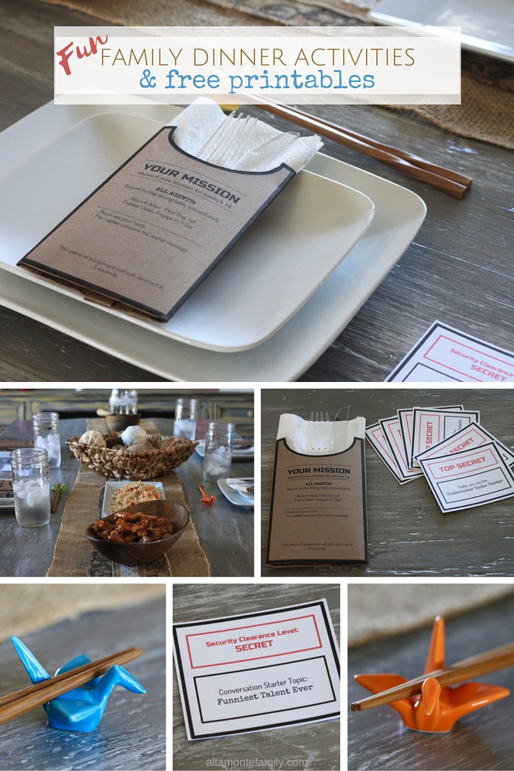Mission Impossible Party Ideas and Free Printables