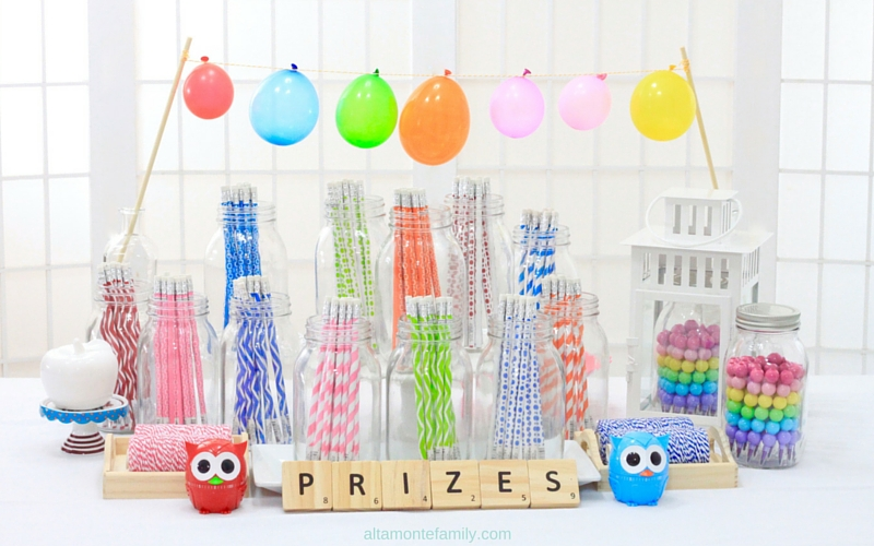Owl Party Prize Table Ideas and Free Printables