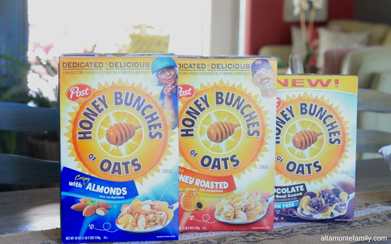 Post Honey Bunches of Oats Cereal Flavors