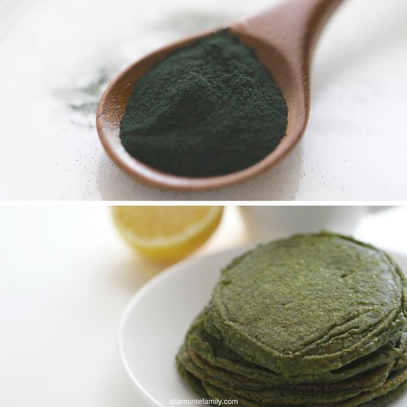 Spirulina Pancake Recipe - Green Protein Pancakes