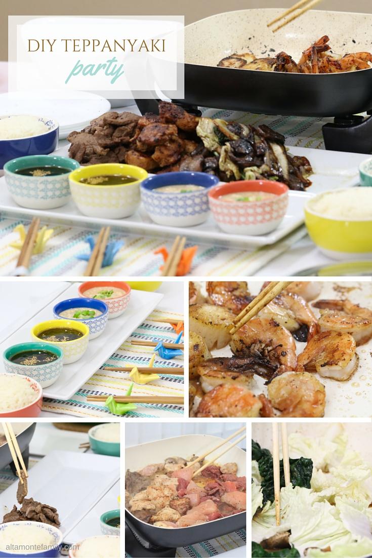 Japanese Dinner Party Ideas Part - 17: Teppanyaki Party Ideas - DIY Japanese Dinner