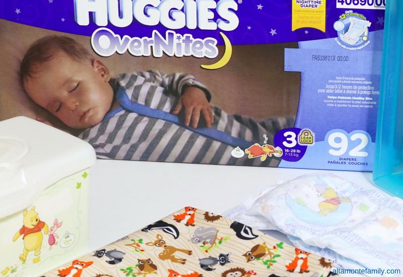 Baby Bedtime Routine - Huggies OverNites