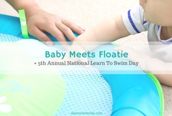 Baby Meets Floatie + 5th Annual National Learn To Swim Day