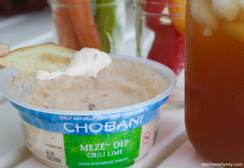 Chobani Meze Dip Chili Lime Pairings