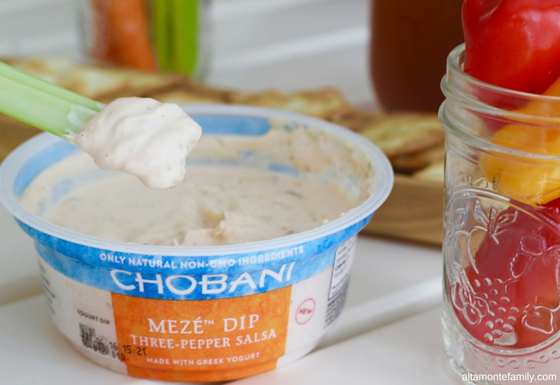 Chobani Meze Dip Three Pepper Salsa Pairings - Summer Party Ideas