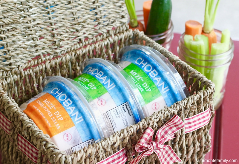 Chobani Meze Party Ideas and Pairings