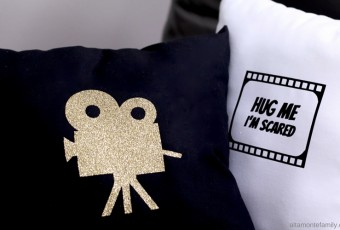 DIY Movie Night Pillows