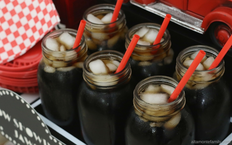 DIY Concession Stand - Movie Night and Mason Jars