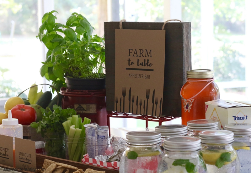 Farm To Table Party Theme - Summer Entertaining