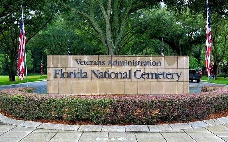 Florida National Cemetery Bushnell - Photos