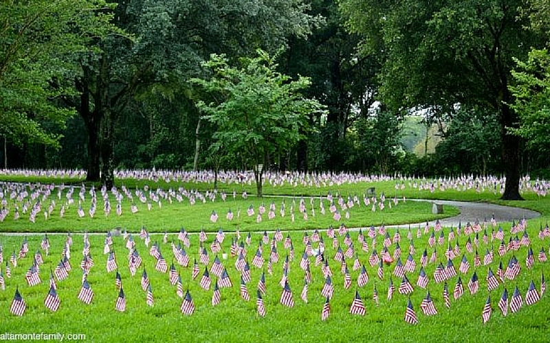 Patriotic Things To Do With Kids - Visit National Cemetery