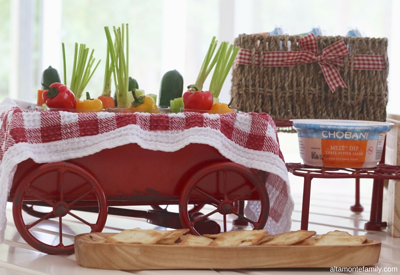 Memorial Day Snack Bar - Vintage Summer Party Idea