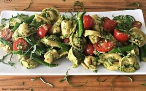Pesto Tortellini Salad - Hungry Friday Feature - Altamonte Family