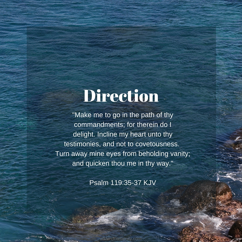finding direction