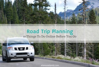 Road Trip Planning: 10 Things To Do Online Before You Go