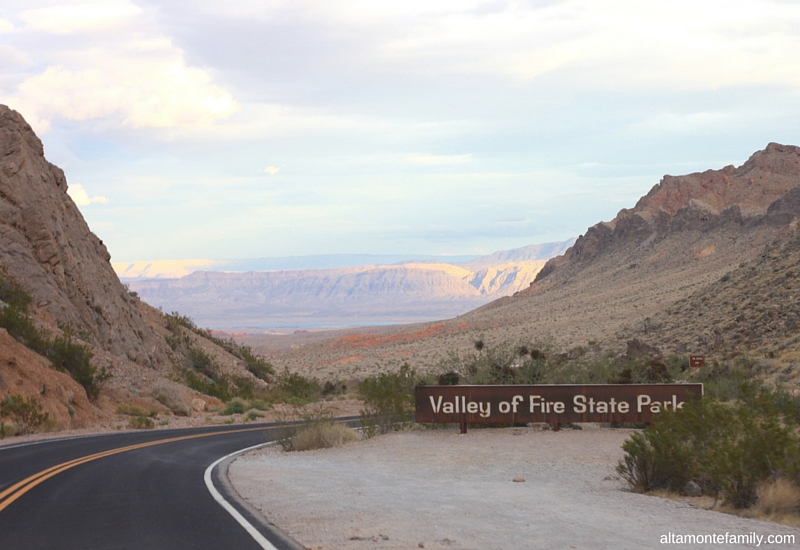 Road Trip Destination Planning - Valley Of Fire State Park - Nevada