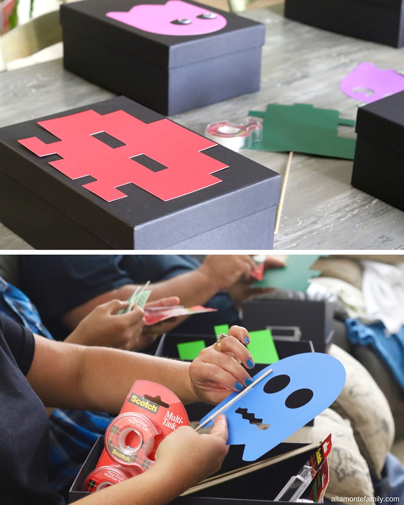 Arcade Party Theme Ideas Crafts and Activities