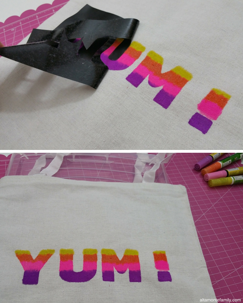 DIY Tote Bag Fabric Marker Project - Cricut Explore