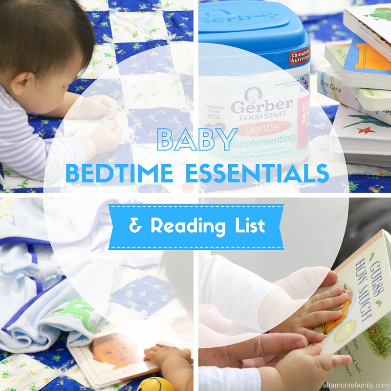 Baby Bedtime Routine Essentials and Reading List