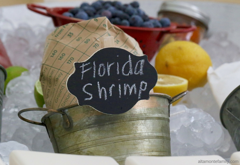 Fresh From Florida Shrimp - Summer BBQ Party Ideas