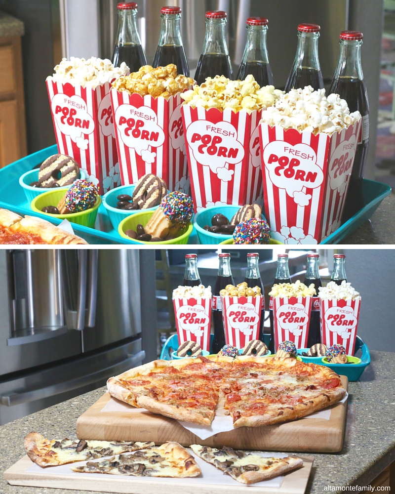 Game Night Party Ideas and Food