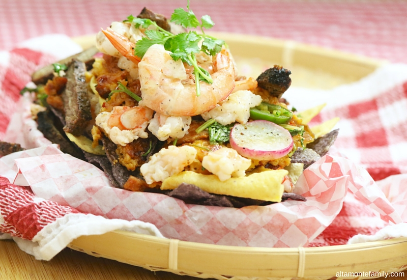 Grilled Surf and Turf Party Nachos Recipe