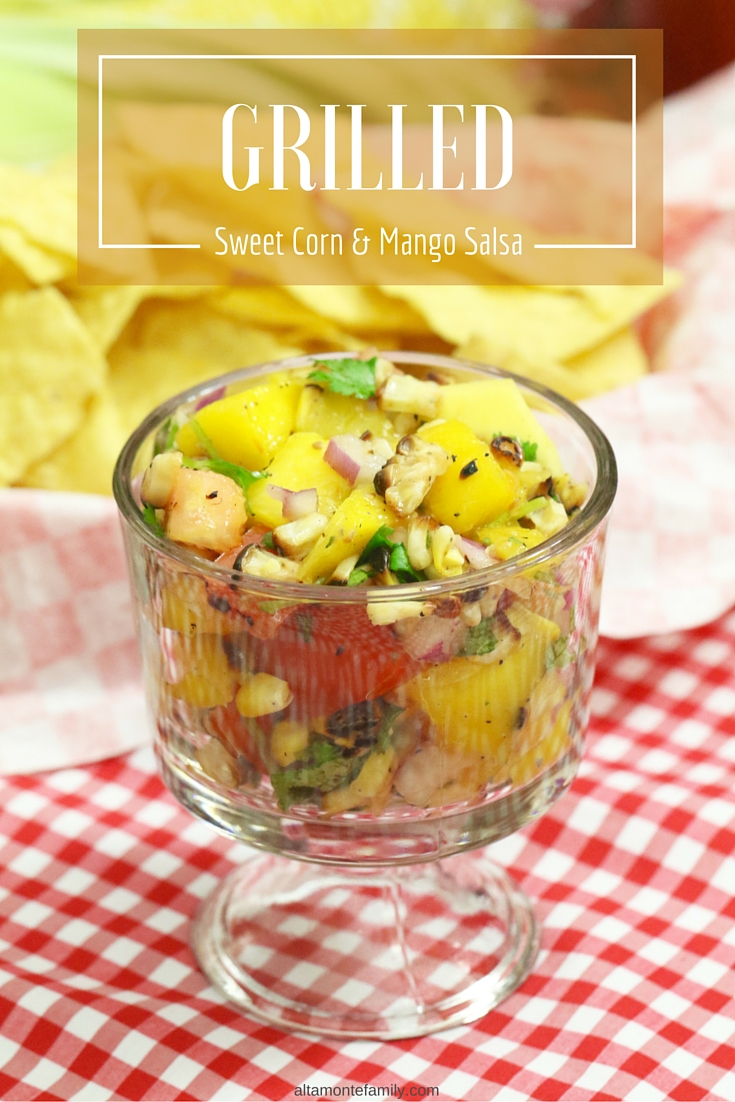 Grilled Sweet Corn and Mango Salsa Recipe