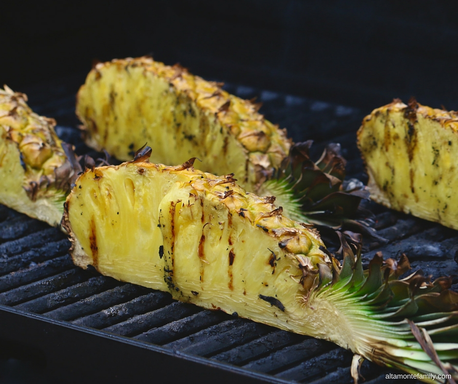How To Grill Pineapple Easy Way
